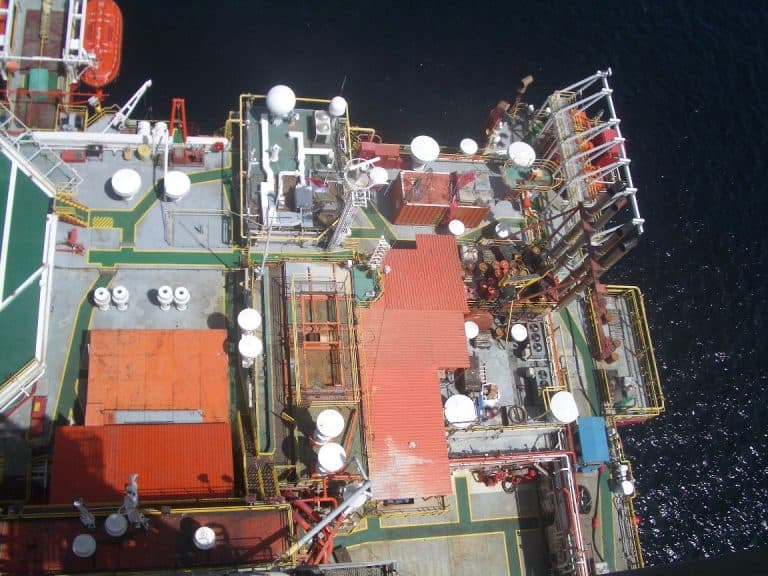 main deck Semi submersible